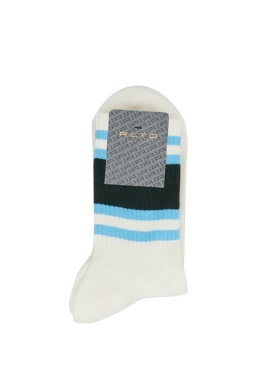 Alto Socks Alto Socks   Çizgili Erkek Çorap 101643926 Krem